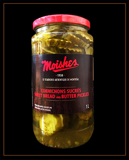 sweet bread pickles reduced